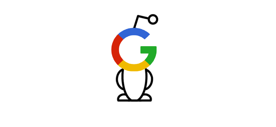 reddit google logo